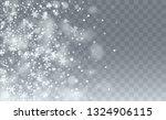 winter snowfall background....   Shutterstock .eps vector #1324906115