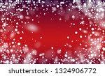 vector snow background. happy...   Shutterstock .eps vector #1324906772