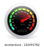 speedometer vector illustration ... | Shutterstock .eps vector #132492782