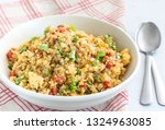 Stir Fried Cauliflower Rice In...
