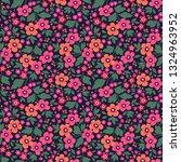 vector seamless pattern. pretty ... | Shutterstock .eps vector #1324963952