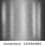 black stainless steel background | Shutterstock . vector #1324964882