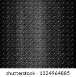 black stainless steel background | Shutterstock . vector #1324964885