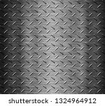 black stainless steel background | Shutterstock . vector #1324964912