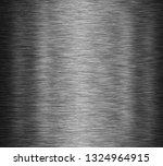 black stainless steel background | Shutterstock . vector #1324964915
