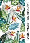 seamless pattern with bird of... | Shutterstock .eps vector #1325015645