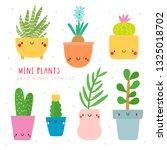 super cute set of vector mini...   Shutterstock .eps vector #1325018702