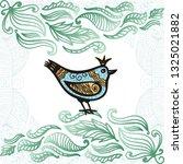 beautiful bird. vector...   Shutterstock .eps vector #1325021882