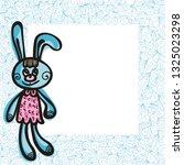 bunny. vector illustration   Shutterstock .eps vector #1325023298