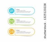 infographic design template... | Shutterstock .eps vector #1325123228