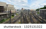 the main central railway... | Shutterstock . vector #1325131322