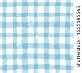 blue gingham seamless pattern....   Shutterstock .eps vector #1325185565