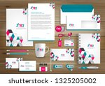 corporate business  identity... | Shutterstock .eps vector #1325205002