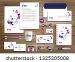 corporate business  identity... | Shutterstock .eps vector #1325205008