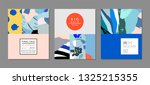 creative sale headers or... | Shutterstock .eps vector #1325215355