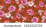 seamless floral pattern in... | Shutterstock .eps vector #1325222735
