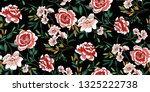 seamless floral pattern in... | Shutterstock .eps vector #1325222738