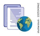 world documents data   Shutterstock .eps vector #1325243462