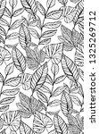 tropical seamless foliage... | Shutterstock .eps vector #1325269712