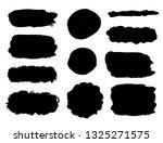 brush strokes. vector... | Shutterstock .eps vector #1325271575