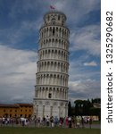 he tower of pisa or leaning... | Shutterstock . vector #1325290682