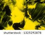 yellow and black abstract... | Shutterstock . vector #1325292878