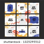 modern puzzle stories business... | Shutterstock .eps vector #1325295512