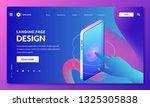 landing page  web banner design ...