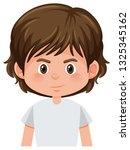 a brunette male character... | Shutterstock .eps vector #1325345162