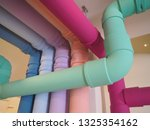 Colorful Plumbing  Piping  Pipes