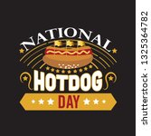 hotdog quote and saying....   Shutterstock .eps vector #1325364782