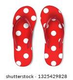 summertime illustration of red... | Shutterstock .eps vector #1325429828