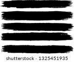 grunge paint roller . vector... | Shutterstock .eps vector #1325451935