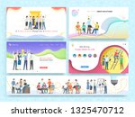 team work together new idea for ... | Shutterstock .eps vector #1325470712