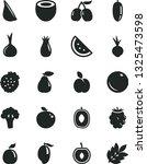 solid black vector icon set  ... | Shutterstock .eps vector #1325473598