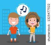 people tech device | Shutterstock .eps vector #1325477522