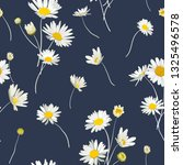 floral seamless pattern with...   Shutterstock .eps vector #1325496578