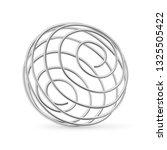 stainless steel whisk ball for... | Shutterstock .eps vector #1325505422