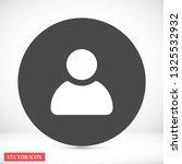 men vector icon 10 eps | Shutterstock .eps vector #1325532932
