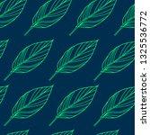 vector seamless floral pattern... | Shutterstock .eps vector #1325536772