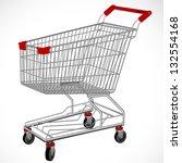 shopping supermarket cart.... | Shutterstock .eps vector #132554168
