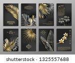 vector vertical invitation 8... | Shutterstock .eps vector #1325557688