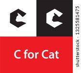 Cat Logo With C Letter  Cat...