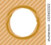 art stroke circle brown colors... | Shutterstock .eps vector #1325602322