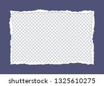 torn paper  ripped piece... | Shutterstock .eps vector #1325610275