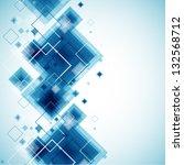 blue technology background.... | Shutterstock .eps vector #132568712