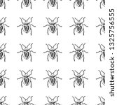 bug seamless pattern isolated... | Shutterstock .eps vector #1325756555