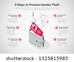 simple infographic for 6 ways... | Shutterstock .eps vector #1325815985