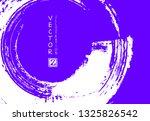 abstract ink brush stroke on...   Shutterstock .eps vector #1325826542