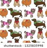 seamless pattern of breeding... | Shutterstock .eps vector #1325835998